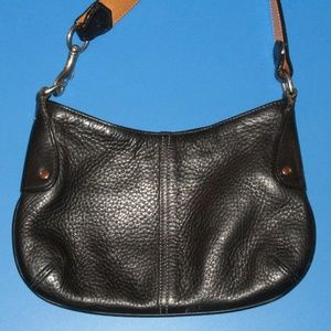 Coach Small Black Leather Purse